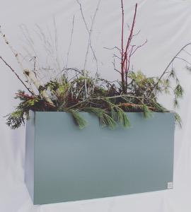 pot de fleurs d 39 ext rieur lin aire luma design. Black Bedroom Furniture Sets. Home Design Ideas
